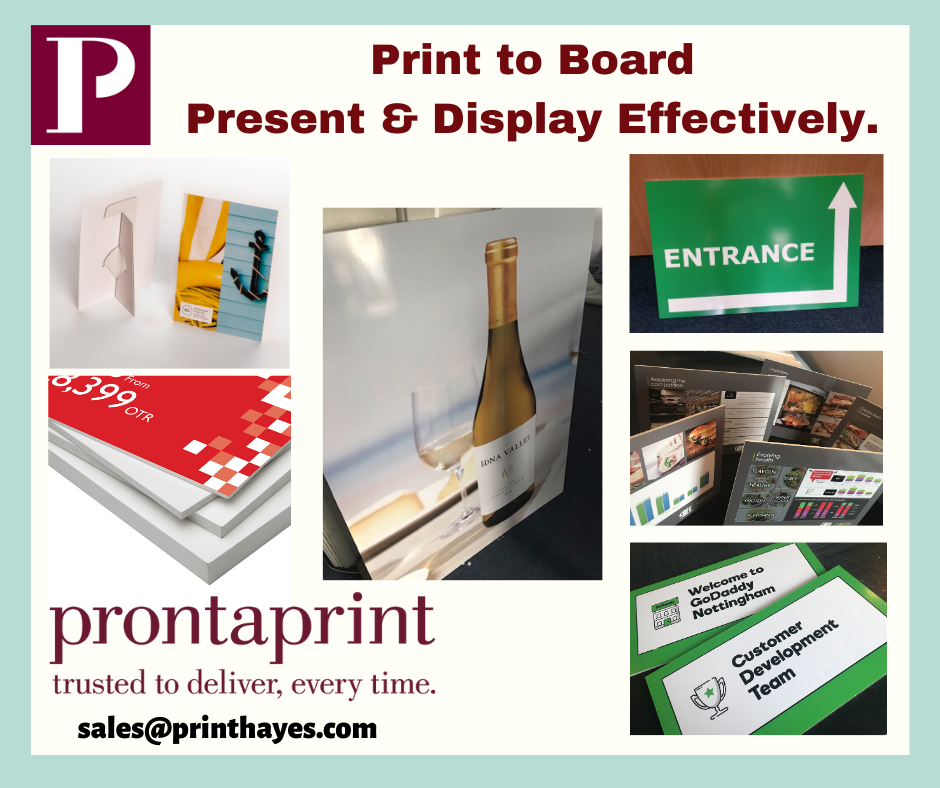 print to board uxbridge